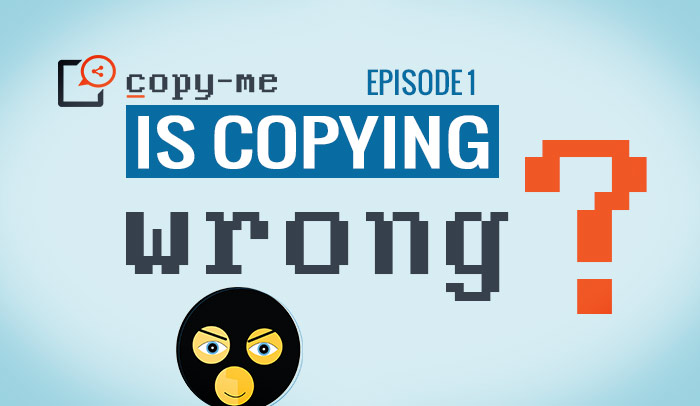 the copy me webseries about copying and copyright